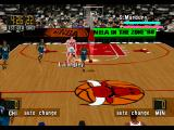NBA in the Zone '98 PlayStation Another angle of the court
