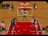 NBA in the Zone '98 PlayStation High camera view