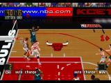 NBA in the Zone '98 PlayStation Side view shot