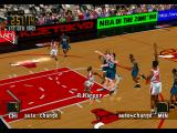 NBA in the Zone '98 PlayStation Quarter view