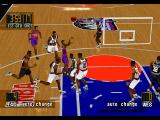 NBA in the Zone '98 PlayStation View from behind
