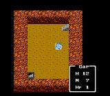 Dragon Warrior III NES In a dungeon