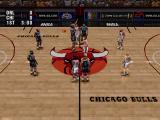 NBA Live 96 PlayStation Game start
