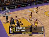 NBA Live 96 PlayStation Lakers court