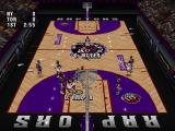 NBA Live 96 PlayStation Raptors court