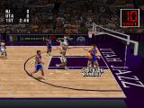 NBA Live 96 PlayStation Utah Jazz court