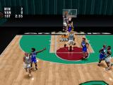 NBA Live 96 PlayStation Grizzlies court
