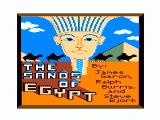 The Sands of Egypt TRS-80 CoCo Credits