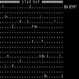 Galaxy TRS-80 Initial game map