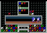 Sonic Eraser Genesis Basically, the whole thing is nothing more then trying to screw the 2nd player. When you get enough combos, Sonic will run across the screen and punch the other Sonic.
