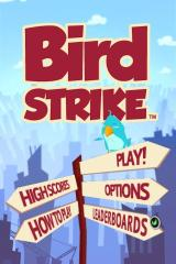 Bird Strike iPhone Main Menu