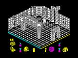 Head Over Heels ZX Spectrum Time to turn down the tables