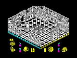 Head Over Heels ZX Spectrum The moon station serves as the planetary hub