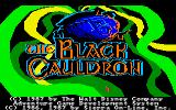 The Black Cauldron Amiga Main Title