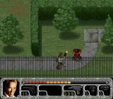 True Lies SNES You can move Harry's arm while firing the Uzi... spray and pray as it were.