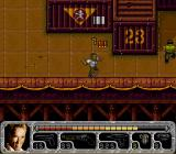 True Lies SNES Grenades show a timer above them when activated.