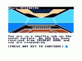 Major Istar: Under the Doomed Sea TRS-80 CoCo Received the SOS from Trident Dome