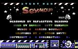 Stuntman Seymour Commodore 64 Main menu