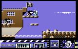 Stuntman Seymour Commodore 64 The second level is pirate-themed.