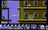 Stuntman Seymour Commodore 64 Fourth level is set in a city with cops, mobsters and giant rats.