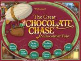 The Great Chocolate Chase: A Chocolatier Twist Windows Title screen and main menu