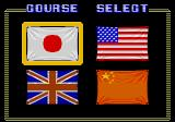 Street Fighter TurboGrafx CD Select Country