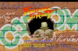 Street Fighter TurboGrafx CD Intro Screen