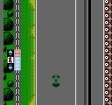 F1 Circus NES Starting a free run