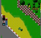 F1 Circus NES Going off the road