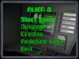 Alien 8 Windows Main menu