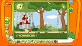 TOGGOLINO CLUB Browser Rupert Bear: driving a scooter through an obstacle course.