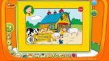 TOGGOLINO CLUB Browser Caillou: Caillou himself is teaching English animal names.