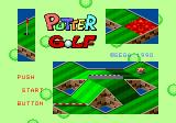 Putter Golf Genesis Title screen