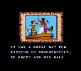 Goof Troop SNES First Intro Screen