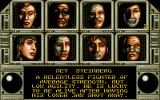 Bad Company Atari ST Character selection