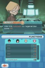 Code Lyoko: Fall of X.A.N.A Nintendo DS Selecting the functions to apply
