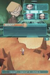 Code Lyoko: Fall of X.A.N.A Nintendo DS Running on the level