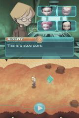 Code Lyoko: Fall of X.A.N.A Nintendo DS Reaching the save point