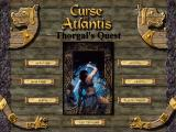Curse of Atlantis: Thorgal's Quest Windows Main menu