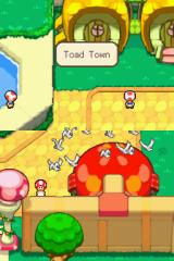 Mario & Luigi: Bowser's Inside Story Nintendo DS The game opens in Toadtown.