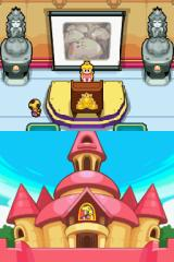 Mario & Luigi: Bowser's Inside Story Nintendo DS Peach calls an emergency town meeting.