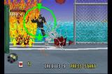 Virtua Cop SEGA Saturn You can also shoot red barrels and send the enemies flying!