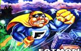 Fatman: The Caped Consumer Amiga Title screen