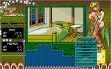 Shiritsu Tantei Max 2: Master of Elemental PC-98 Hotel. Opening magic menu