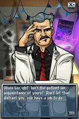 Dr. Awesome: Microsurgeon M.D. iPhone Patient names are taken from your contacts (if no contacts exist, generic names like this are used)