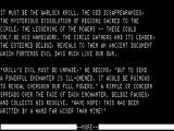 Enchanter TRS-80 Opening narrative