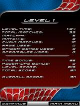 Spider-Man 3 Puzzle J2ME Level statistics