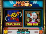 Namco All-Stars: Pac-Man and Dig Dug Windows Launcher screen