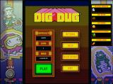 Namco All-Stars: Pac-Man and Dig Dug Windows Dig Dug classic mode