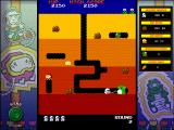 Namco All-Stars: Pac-Man and Dig Dug Windows Dig Dug classic mode round 2